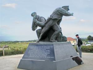 Utah Beach Naval Memorial Statue_2810_CVO
